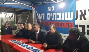 """חבר הכנסת חזן באוהל המחאה - ח""""כ אורן חזן הודיע: אצטרף לשביתת הרעב"""