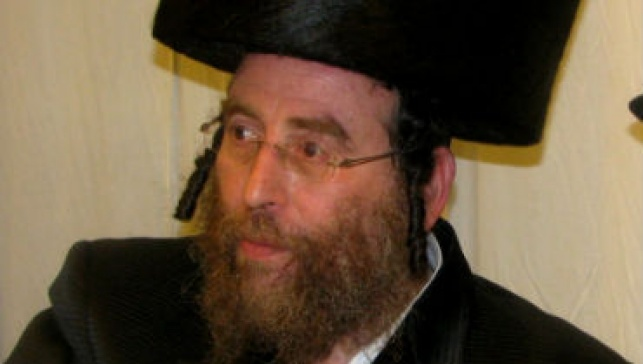 הרב מרדכי בלוי (צילום: דובי קורן)