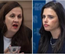 השרה איילת שקד ודינה זילבר