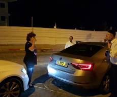 נהגת מונית התנגשה ברכבו של מקלב. צפו