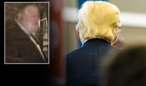 טראמפ ברח מהעסק שלו. בקטן: לייב וולדמן, החשוד מפרשת בית שמש