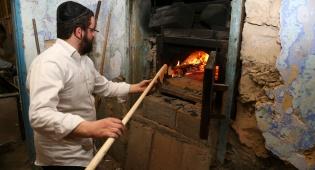 גלריה מרהיבה: כך מכינים מצות בצפת
