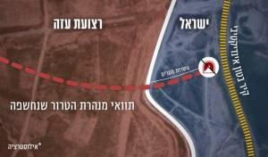 המנהרה שהתגלתה נחפרה על ידי החמאס
