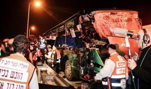 האוטובוס שהתנגש במשאית - חסדי ה': הכלה שנפצעה ב'אסון 402' התעוררה