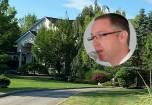 רוזנברג, וביתו בשכונה היוקרתית במונסי