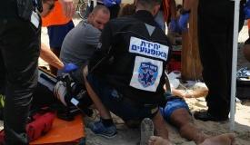 להציל את המציל: המציל נפצע אנוש ונפטר