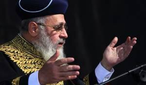 """נאום """"מעמד הרבנות"""": הראשון לציון כפי שעוד לא שמעתם"""