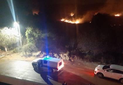 שריפה במפעל דבש; התושבים שבים לבתים