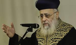 """הראשון לציון הגר""""י יוסף - הקוף ברח, הרבנים נפגשו ודנו ב'אמירה לגוי'"""