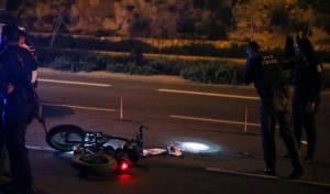 פגע וברח? רוכב אופניים נפצע קשה בתאונה