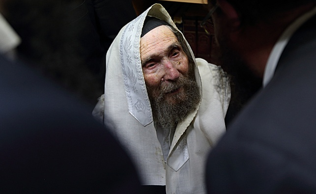 מרן רבי אהרון לייב שטיינמן