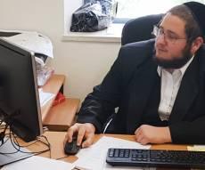 פישל רוזנפלד במשרדו