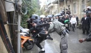 אלימות משטרתית, תמונת ארכיון. למצולמים אין קשר לכתבה