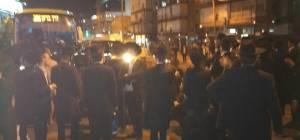 הפגנה על מעצר אלישיב. ארכיון