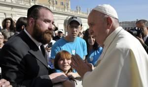 ילדים חולי סרטן התארחו אצל האפיפיור