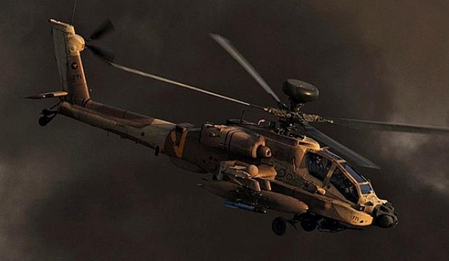 מסוק של חיל האוויר בפעולה