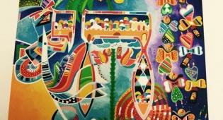 אמנות בשלל צבעים: מה קורה כשמפגישים אותיות וצבע?