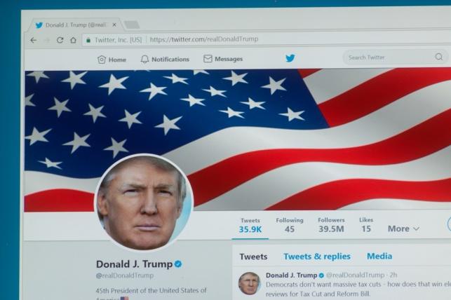 אחרי השעיית טראמפ: מניית טוויטר צונחת