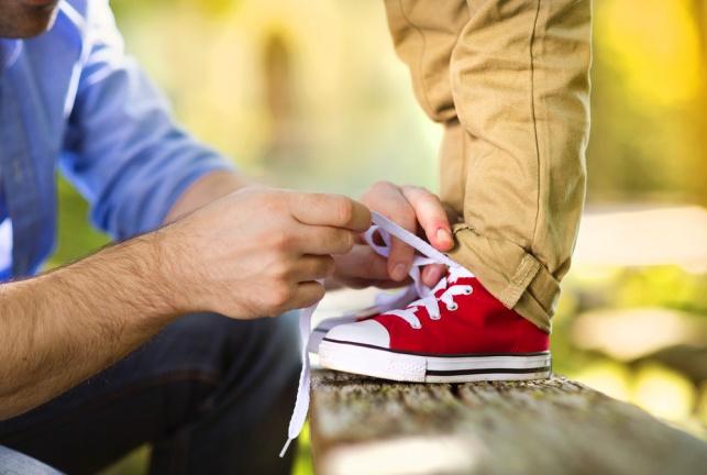מותג הנעליים. אילוסטרציה