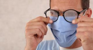 הפתרון למשקפיים שמתמלאים באדים בגלל המסכה