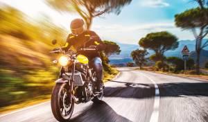 רוכב אופנוע, אילוסטרציה