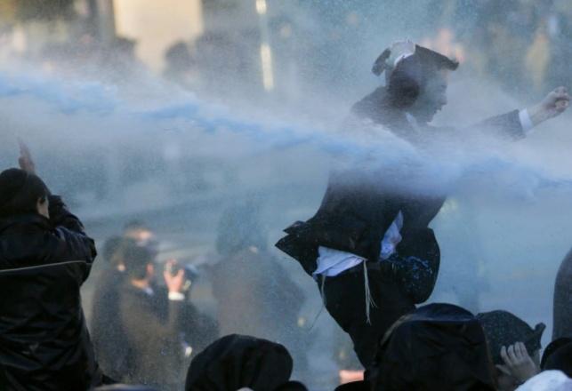 ההפגנה בשבוע שעבר