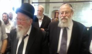 הרב  שטרן והרב גולדברג