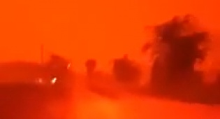 אינדונזיה: שריפות צבעו את השמיים באדום