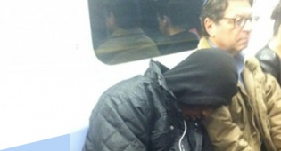 הבחור השחור ויצחק טייל ברכבת