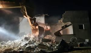 בית המחבל שרצח את הרב שבח נהרס שוב