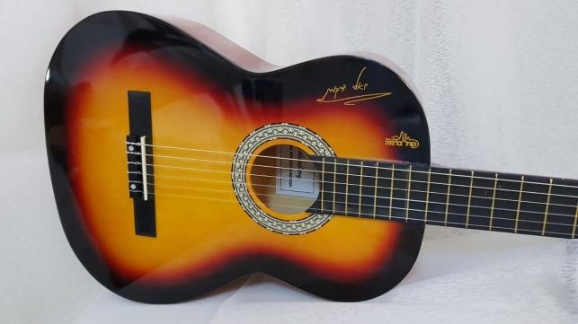 אחת הגיטרות שיחולקו