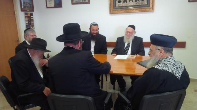 פגישת הרבנים בסוף השבוע