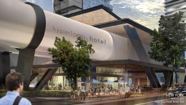 הדמיה של מלון הייפרלופ