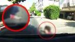 תיעוד מחריד: הילד קופץ לכביש - ונדרס. צפו