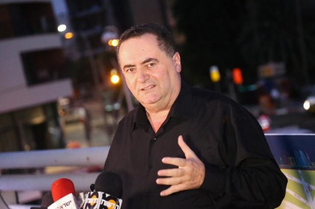 כץ לפני כשבועיים - השר ישראל כץ עבר ניתוח לקיצור קיבה