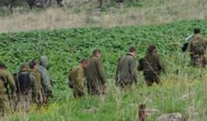 חיילים בחיפושים אחר חבר