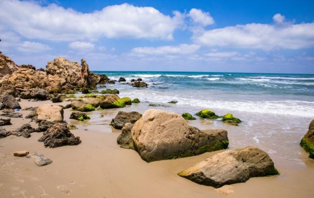 חוף עין הים אתמול