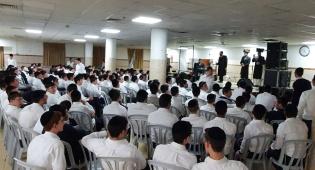 התלמידים בישיבה