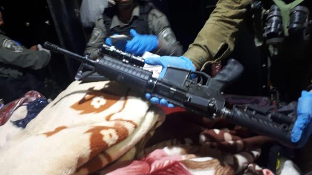 נשק רב נתפס בעיירה אידנא; חשוד נעצר