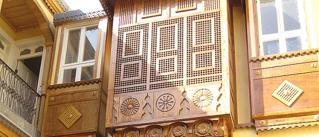 בית פרחי ברובע היהודי בדמשק, סוריה - תיעוד נדיר: הרובע היהודי בדמשק