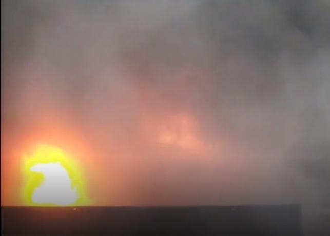 כך נפל אמש טיל ה'באדר 3' בלב אשדוד. צפו
