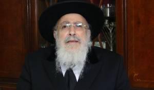 הגאון רבי שמעון אליטוב עם וורט לחג הפסח