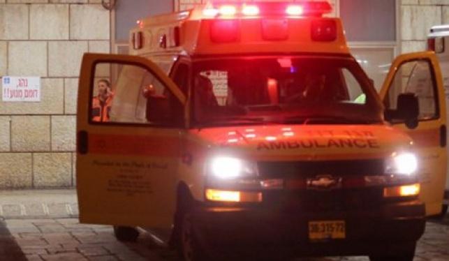 בית שמש: בן 11 נפצע קשה בתאונה
