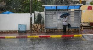 גל הגשמים הקודם בצפת