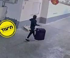 """זוג גנבו רכב ויצאו למסע פריצות ברחבי ב""""ב"""