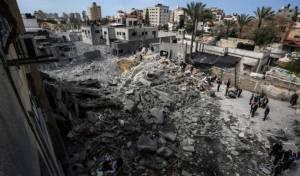 תוצאות תקיפה ישראלית בעזה. ארכיון