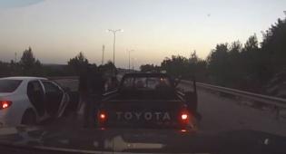 תיעוד דרמטי: כך נעצרו גנבי הרכב