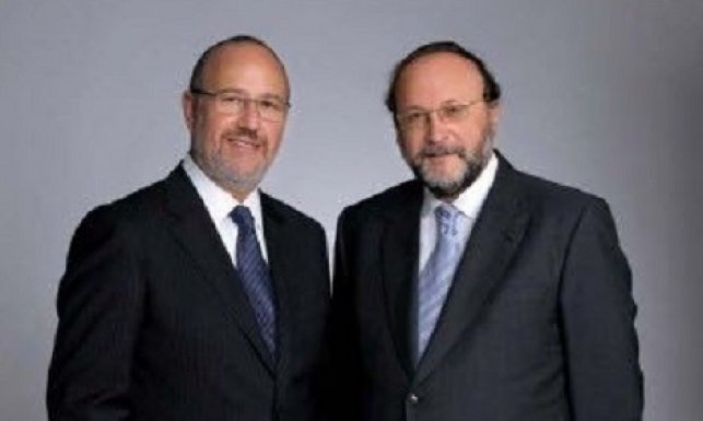 שני אנשי העסקים