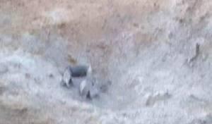 הרקטה שנפלה בשער הנגב - שטח פתוח: רקטה נורתה מעזה אל ישראל