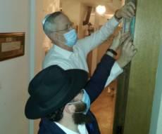 גנץ והשליח הרב נחום כהן